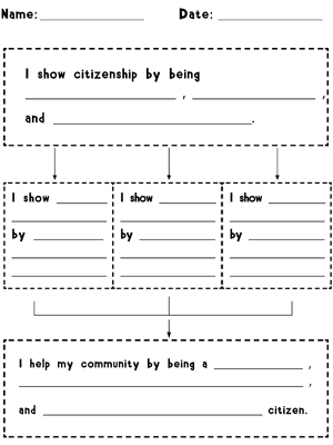 free constitution worksheets