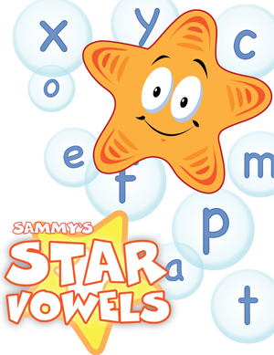 Star Vowels - Card Game