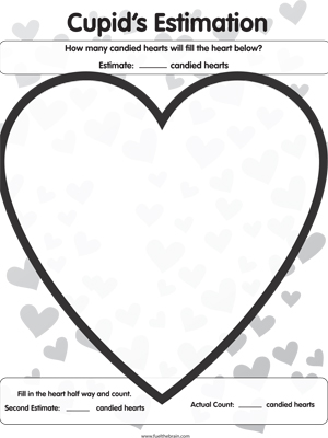 Cupids Estimation - Printable