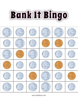 Bank It Bingo Fuel The Brain