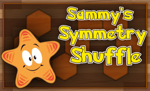 Drawing Lines Of Symmetry Games : Sammy's symmetry shuffle fuel the brain