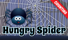 Hungry Spider - Counting - Interactive